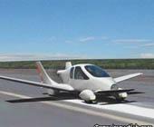 В США поступил в продажу летающий автомобиль