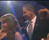 Барак Обама станцевал с певицей Талией (ВИДЕО)