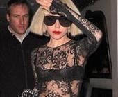 Lady GaGa приехала в ресторан голой (ФОТО)